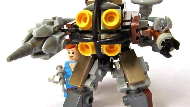 Recrean Rapture, la ciudad de Bioshock, con piezas de LEGO