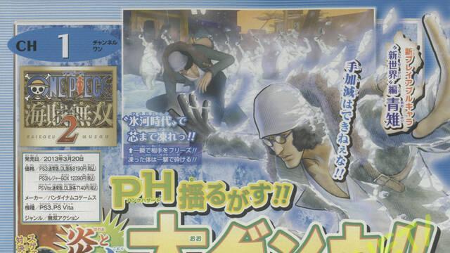 One Piece: Pirate Warriors 2 confirma nuevos personajes