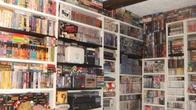 Un jugador subasta una colección de videojuegos de 30 años en eBay por medio millón de dólares