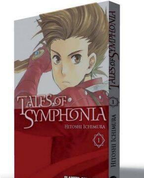 Ya está disponible el manga de Tales of Symphonia