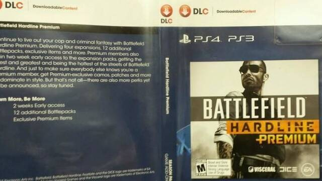 Se filtran los detalles de Battlefield Hardline Premium