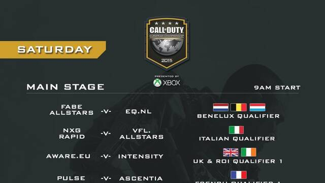 Sigue aquí en directo el Campeonato Europeo de Call of Duty