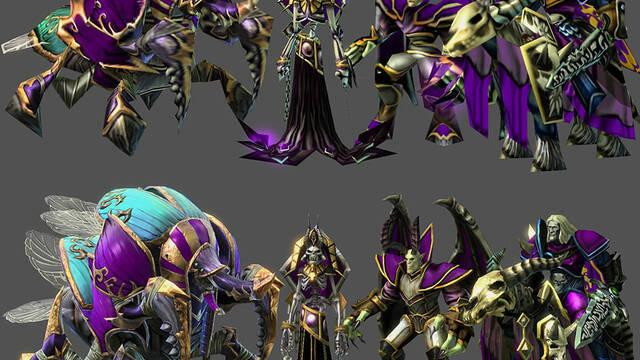 Los materiales de Warcraft III llegarán a StarCraft II