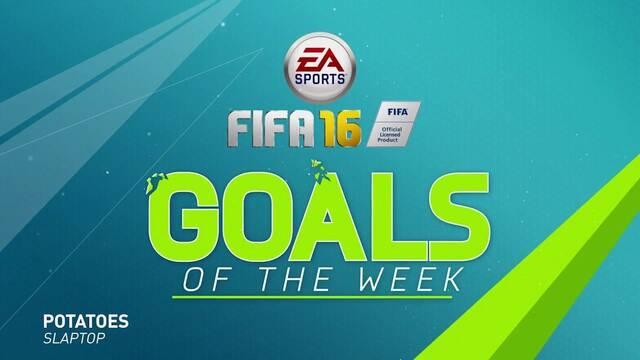 Nueva selección de goles con FIFA 16