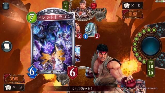 Los personajes de Street Fighter V llegarán al título de cartas Shadowverse