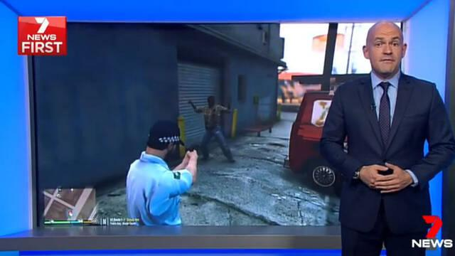 Un mod de GTA V protagoniza las noticias del Canal 7 de Australia