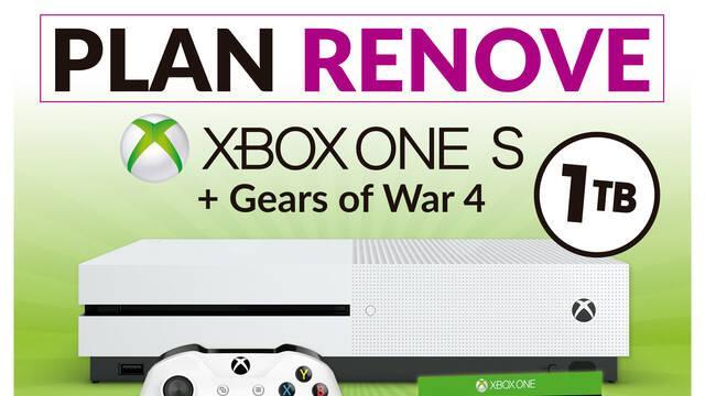 Microsoft anuncia su plan renove de Xbox One S con las tiendas GAME