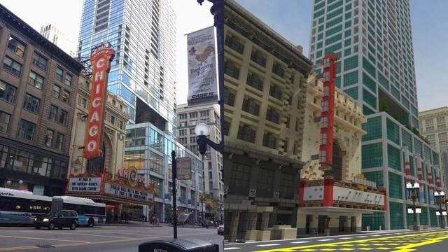 Recrean la ciudad de Chicago en Minecraft