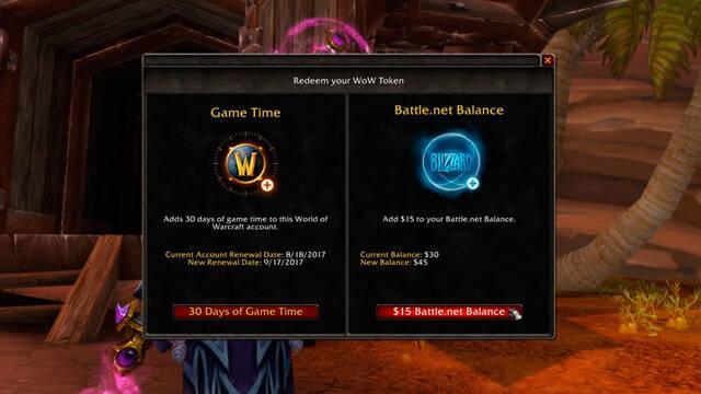 El oro de World of Warcraft ahora puede trasladarse a otros juegos de Blizzard