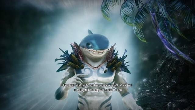 En Nightmarchers el dios hawaiano Kamohoali'i te permite ser un tiburón