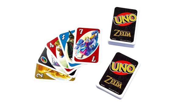 Presentan el UNO de The Legend of Zelda