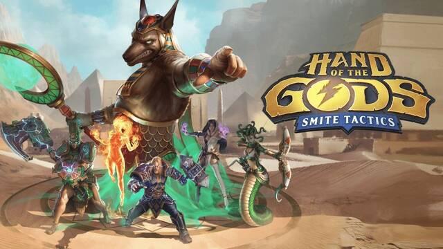 Hand of the Gods: Smite Tactics llegará el 20 de febrero a consolas y PC