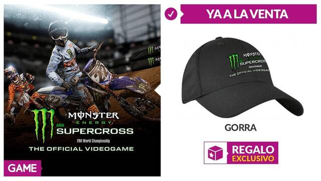 GAME detalla su incentivo por compra para Monster Energy Supercross