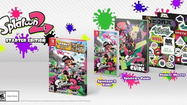 Nintendo anuncia Splatoon 2 Starter Edition en Estados Unidos