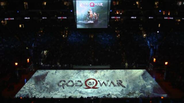 Sony muestra oficialmente su espectacular anuncio de God of War en la NBA