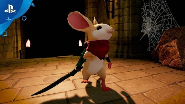 Moss para PlayStation VR se muestra en acción en un extenso gameplay