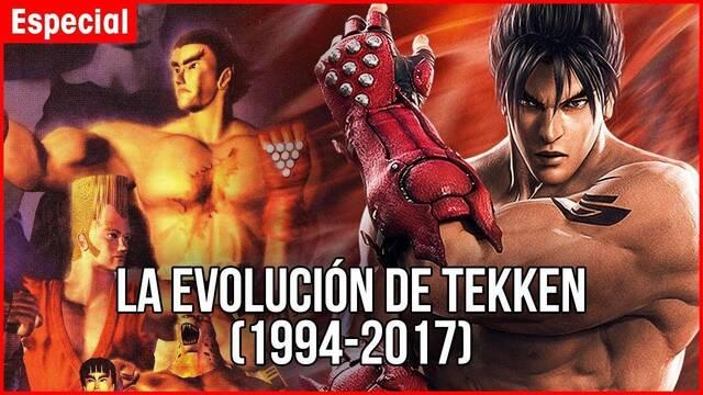 Repasamos en vídeo la evolución de la saga Tekken en los videojuegos