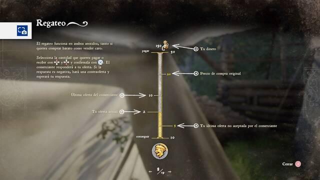 Sistema de regateo de Kingdom Come Deliverance (2)