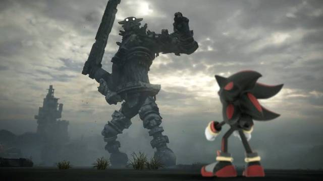Shadow de Sonic se cuela en Shadow of the Colossus en un bello vídeo
