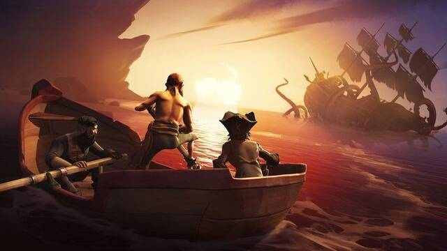 Se desvela el aspecto del temible kraken de Sea of Thieves