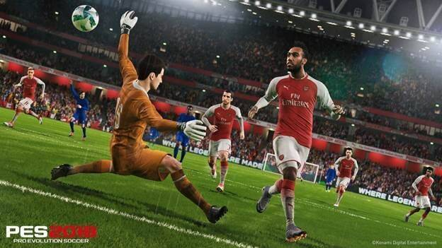 Pro Evolution Soccer 2018 se actualiza con el Data Pack 3.0