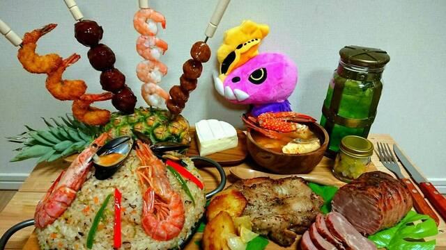Así sería la comida de Monster Hunter World en la realidad