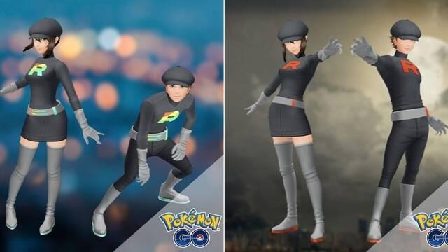 Pokémon GO recibe atuendos y accesorios basados en el Team Rocket