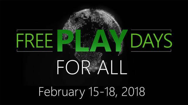 Xbox Live será gratuito del 15 al 18 de febrero