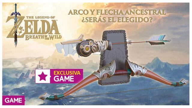 GAME venderá las réplicas del arco y la flecha de Zelda: Breath of the Wild