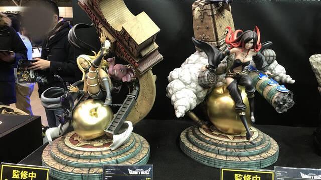 Presentadas en Japón dos figuras de Gravity Rush 2