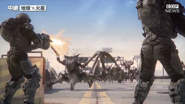 Earth Defense Force 5 tendrá colaboración con Starship Troopers