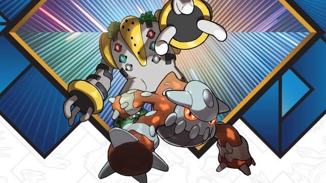 Los Pokémon Legendarios Heatran y Regigigas llegarán gratis en marzo