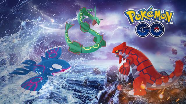 Los Legendarios Groudon y Kyogre vuelven a Pokémon GO por tiempo limitado