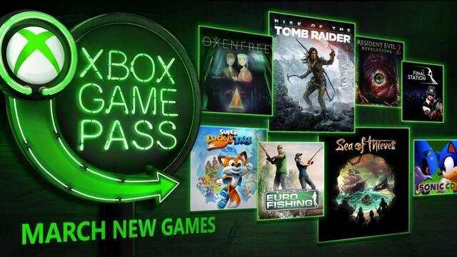 Rise of Tomb Raider y Sea of Thieves se suman a Xbox Game Pass en marzo