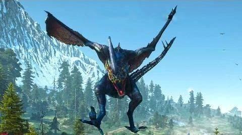 Dragón - Contrato en The Witcher 3: Wild Hunt