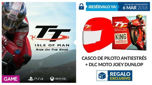 GAME detalla sus incentivos por reserva para TT Isle of Man en One y PS4