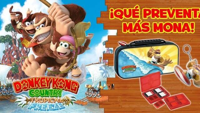Donkey Kong Country: Tropical Freeze para Switch costará 59,99 euros