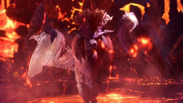 El infernal Teostra - Monster Hunter World