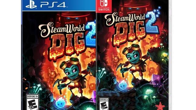 Ya en tiendas la edición física de SteamWorld Dig 2 para Switch y PS4