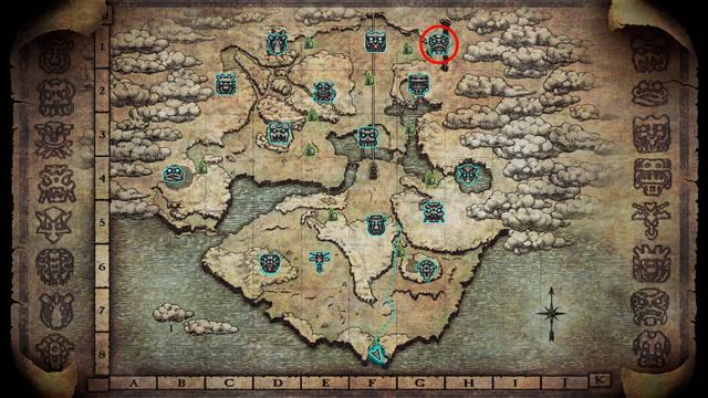 Localización del coloso 15. Argus en Shadow of the Colossus PS4