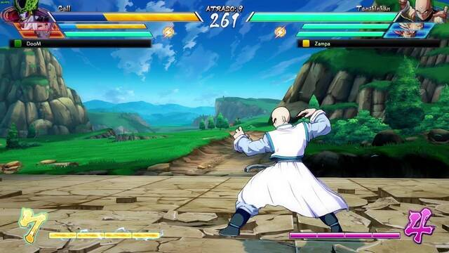 Un bug en Dragon Ball FighterZ hace invisibles a los personajes