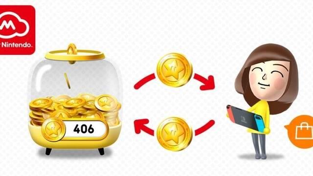 Los puntos de oro de My Nintendo podrán usarse en la eShop de Switch