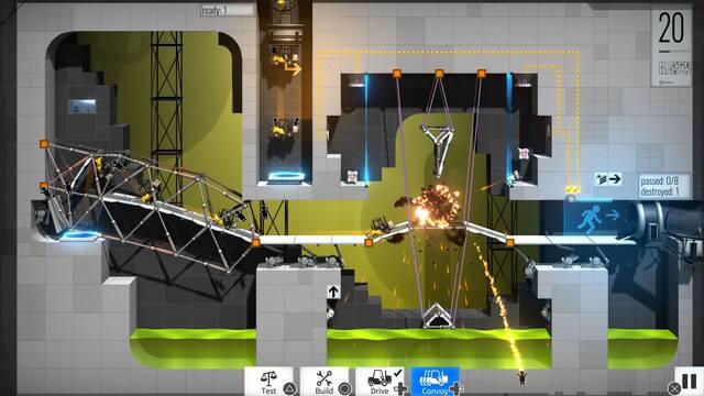 Bridge Constructor Portal confirma sus fechas de lanzamiento en consolas