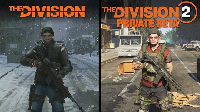 Comparan la beta de The Division 2 con el primer The Division