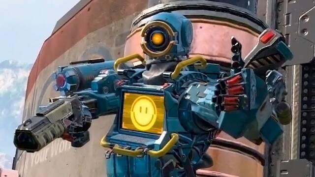 Apex Legends cuenta con un divertido guiño a Bastion de Overwatch