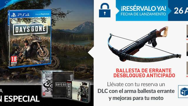 GAME detalla sus incentivos por la reserva de Days Gone