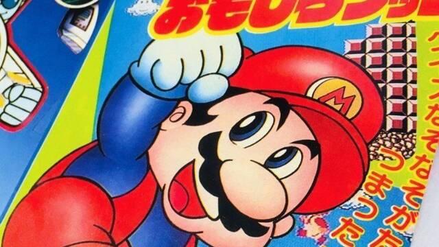 Surgen varios dibujos inéditos de Mario para una revista infantil de los 80