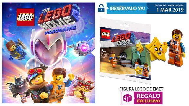 GAME detalla la reserva de La LEGO Película 2: El Videojuego