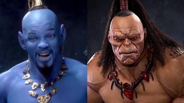 Mortal Kombat: Los fans comparan a Goro con el Genio de 'Aladdin'