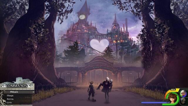 Un fan imagina cómo sería el mundo de NieR: Automata en Kingdom Hearts III